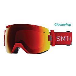 Smith Optics I/OX Goggle – Fire Split Frame/ChromaPop Sun Red Mirror/ChromaPop Storm Rose  ...