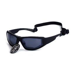 Supertrip UV400 Protective Motorcycle Sports Sunglasses Ski Goggles Color Black