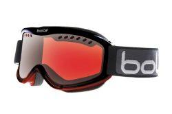 Bolle Carve Snow Goggles (Black/Red Fade Frame/Vermillon Gun Lens)