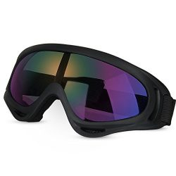 GARDOM Tactical Goggles, Military Eyewear CS Army Glasses Ski Goggles Sport Sun Glasses UV Prote ...