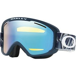 Oakley OO7066-45  O-Frame 2.0 XM Snow Goggles, Facet Iron Fathom Frame, High Intensity Yellow Le ...