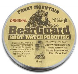 Bear Guard Original – Boot and Leather Waterproofing – Beeswax and Bear Grease