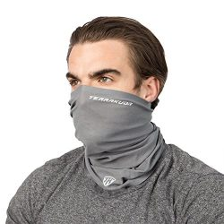 TERRAKUDA Multifunctional Face Mask Neck Gaiter – Headband, Balaclava, Headwear, Bandana,  ...