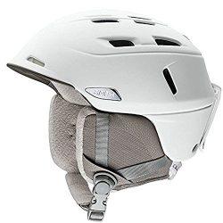 Smith Optics Adult Compass Ski Snowmobile Helmet – Pearl White/Large