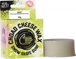 Choad Cheese Snowboard & Ski Warm Temp Hot Wax with Surfactants