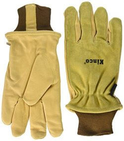 Kinco 035117009578 94Hk Split Grain Pigskin Ski Glove with Grain Pigskin Leather Palm, XX-Large, ...