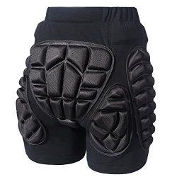 Soared 3D Protection Hip Butt EVA Paded Short Pants Protective Gear Guard Impact Pad Ski Ice Ska ...