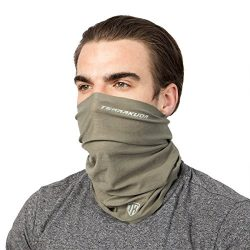 Multifunctional Face Mask Neck Gaiter – Headband, Balaclava, Headwear, Bandana, Head Wrap. ...