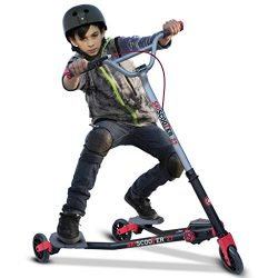 smarTrike Skiscooter Z7 Kids Scooter, Red, 42.3″ x 40.0″ x 27.2″