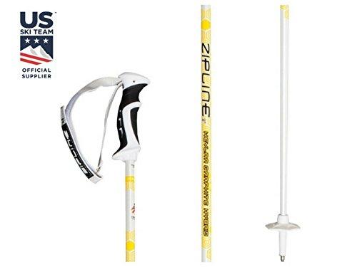 Zipline Ski Poles Kevlar Graphite Hybrid Composite Podium 14.0 K U.S. Freestyle Ski Team Officia ...