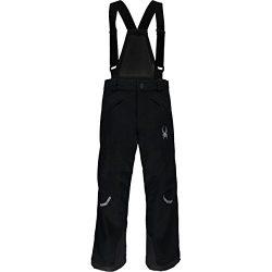 Spyder Kids Boy's Force Pants (Big Kids) Black/Black 1 14