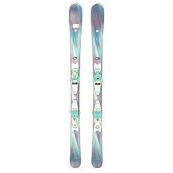 Used 2016 Womens Salomon Iris Skis with Salomon L10 Bindings A – 161cm