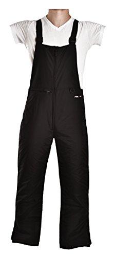 Arctix Men's Essential Bib Overall, Black, Medium/Regular
