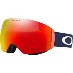 Oakley Flight Deck XM Snow Goggles, USOC Blazing Eagle Frame, Prizm Torch Iridium Lens, Medium