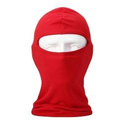 Seoget Candy Color Ultra Thin Ski Face Mask Under A Bike/Football Helmet -Balaclava