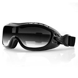 Bobster 804511 Night Hawk Ii Goggle OTG with Photochromic Lens