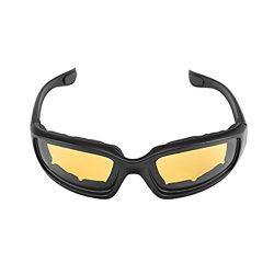 Yxaomite Motorcycle Glasses Men Goggles Padded Foam With Antifog UV Protection Lens Windproof Du ...