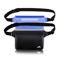 Waterproof Pouch, Screen Touch Sensitive Waterproof Bag with Adjustable Waist Strap – Keep ...