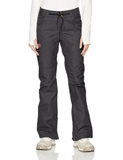 DC Women's Viva 15k Water Proof 5 Pocket Snowboard Pants, Black, XL