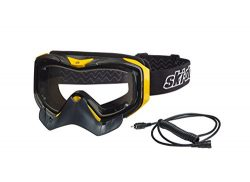 Ski-Doo OEM Adrenaline Electric Wired Goggles Dual Lens, No/Anti-Fog 4478670010