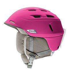 Smith Optics Compass Adult Ski Snowmobile Helmet – Matte Fuchsia / Medium