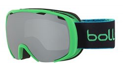 Bolle Winter Royal 21595 S Lens Ski Goggles, Matte Green/Spray/Black/Chrome