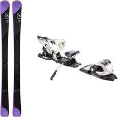 Rossignol Temptation 88 HD 156cm 2018 & Marker M 11.0 TC EPS 90mm White Silver Ski Bindings