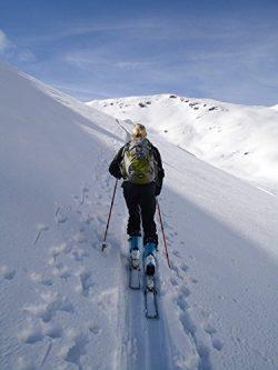 Home Comforts LAMINATED POSTER Skiing Backcountry Skiiing Ski Touring Poster