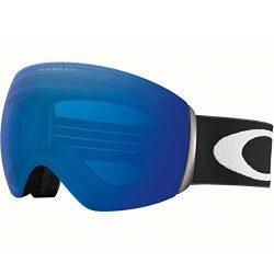 Oakley OO7050-20 Flight Deck Eyewear, Matte Black, Prizm Sapphire Iridium Lens