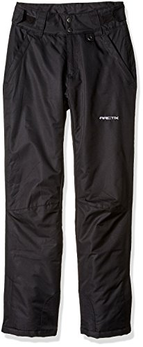 Arctix Women's Insulated Snow Pant, Black, X-Small/Regular