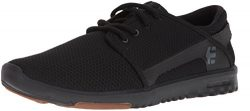 Etnies Men's Scout Skate Shoe, Black/Black/Gum, 9.5 Medium US