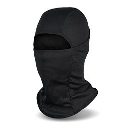 Fantastic Zone Balaclava Ski Mask, Winter Hat Windproof Face Mask For Men and Women, Black