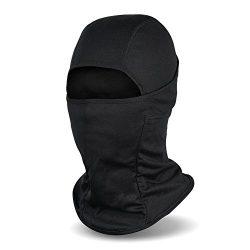 Fantastic Zone Balaclava Ski Mask, Winter Hat Windproof Face Mask For Men and Women, Black