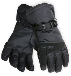 Winter Ski & Snowboard Gloves with Wrist Leashes – Waterproof & Windproof Snow Glo ...