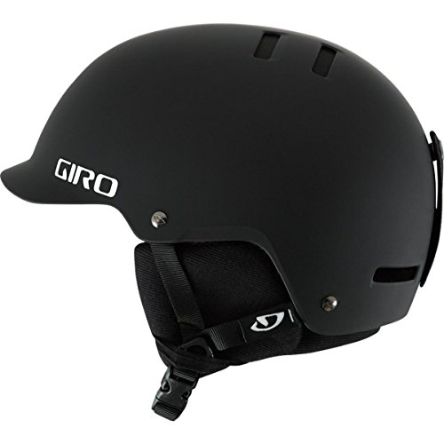 Giro Surface-S Snow Helmet (Matte Black, Small)