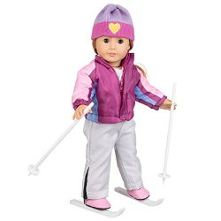 "Skiing Doll Clothes for American Girl Dolls: ""Let's Go Skiing"" Outfit –  ..."