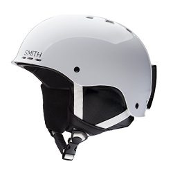 Smith Optics Unisex Youth Holt Jr Snow Sports Helmet – White Youth Medium (53-58CM)