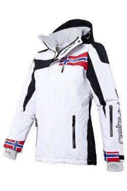 Nebulus Ski Jacket FREESTYLE, women, white, size S, Q 682