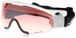 Julbo Nordic SNIPER Ski Goggle, Interchangable Lens, Matte White, Medium