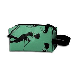 Water Ski Skier Unisex Multifunction Make-up Bags Pouch Bags For Travel Camping