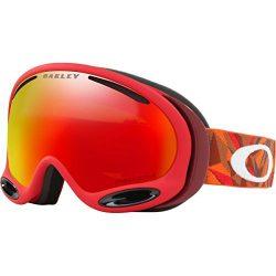 Oakley A-Frame 2.0 Snow Goggles, Facet Red Brick, Medium