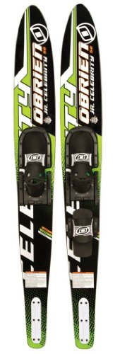 O'Brien Junior Celebrity Kid's Combo Water Skis, 58-Inch