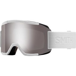 Smith Optics Adult Squad Snow Goggles,Whiteout Frame/ChromaPop Sun Platinum Mirror