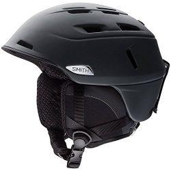 Smith Optics Camber – MIPS Adult Ski Snowmobile Helmet – Matte Black/X-Large