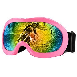 Zdatt Motorcyle Riding Goggles Kids – Dirtbike ATV Glasses Youth with Double Lens UV Prote ...