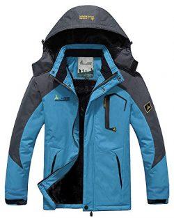 CIOR Men and Women Snow Jacket Windproof Waterproof Ski Jackets Winter Hooded Mountain Fleece Ou ...