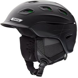 Smith Optics Unisex Adult Vantage Snow Sports Helmet – Matte Black Xlarge (63-67CM)