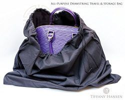 Tiffany Hansen's Cotton Large Drawstring Shoe & Purse Travel Storage Bag (8)