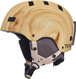 Traverse Sports Dirus Convertible Ski & Snowboard/Bike & Helmet, Bamboo, Medium (55-59cm)