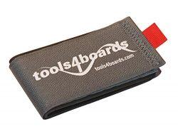 Tools4Boards Bind Alpine Ski Strap, Grey/Red